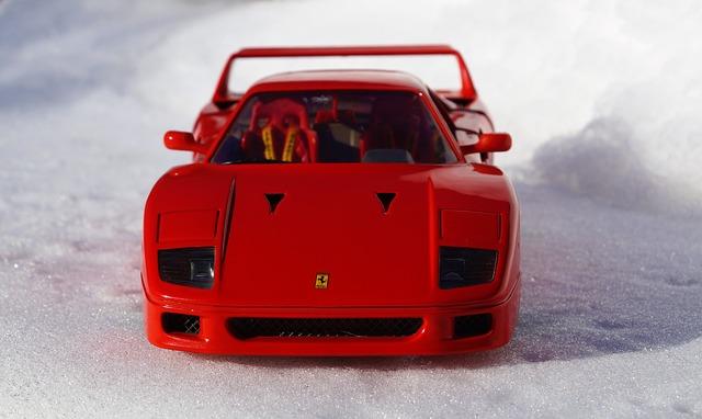 model Ferrari