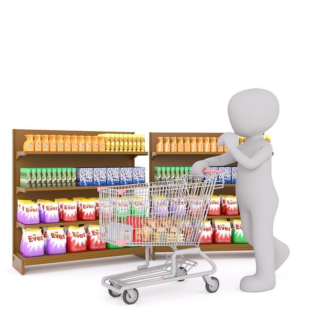 nakupování panáčka