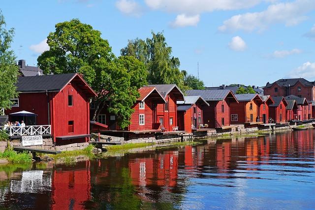 domky červené