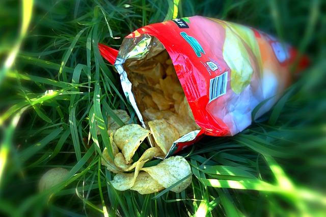 bramborové lupínky