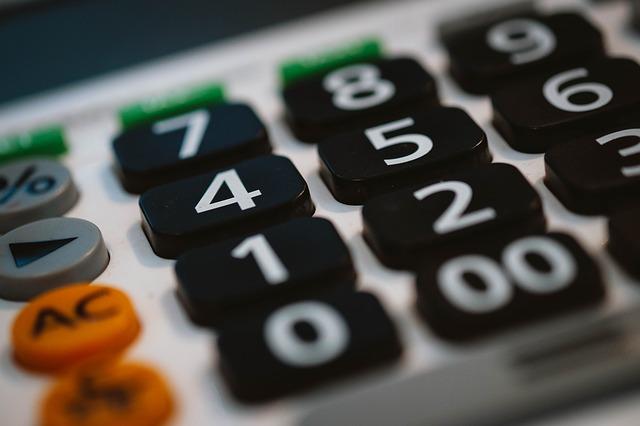 detail kalkulačky